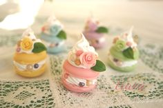 Items similar to crystal Macaron Cake---Swarovski---Pearl---Charms on Etsy Macaron Cake, Macaron Cookies, Cupcake Cookies, Mini Cupcakes, Cake Art, Art Cakes, French Macaroons, Pastry Cake, Wedding Desserts