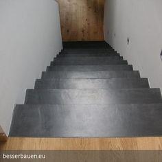 Beschichtung mit Besser Bauen Beton Cire Technik