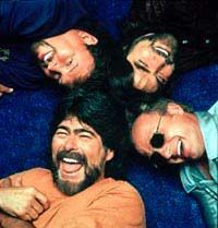 Image detail for -Alabama band members, clockwise from left, Randy Owens, Jeff Cook ...