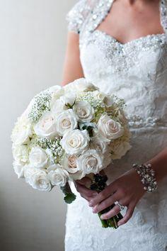 White Wedding Bouquet - Belle The Magazine