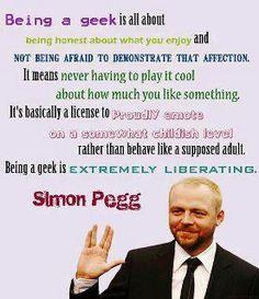Geekdom in four sentences. (Via George Takei on FB)