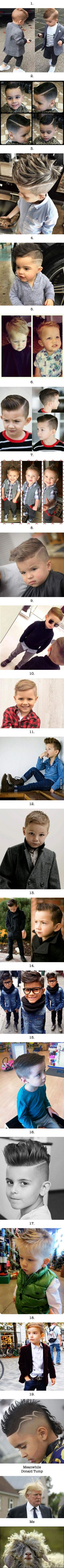 19 toddlers that have better hairstyles than you