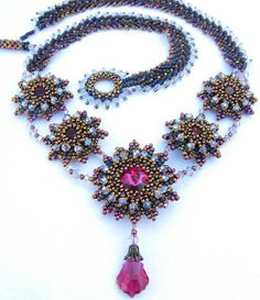 Jewelry Art Designs by Miriam Shimon~Cielo featured Eye Candy in Bead-Patterns.com