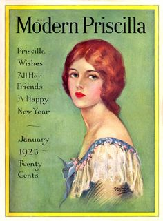 January 1925....re-pinning this one in honor of my sister, Priscilla  :)