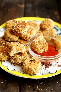 Breaded Vegan Cauliflower Nuggets - 10 Recipes That Prove Cauliflower Is the New Kale - ChooseVeg.com