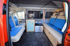 Sophie and Tobys Pod T5 conversion