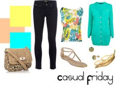 Casual Friday :), created by cupcakecutie90 on Polyvore
