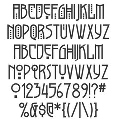 Art Deco Fonts - Yahoo Image Search Results