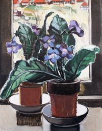 Margaret Preston: Gloxinias