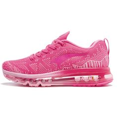 Women's Running fitness and athletic shoes with breathable mesh