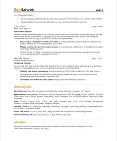 News Producer Sample Resume 6 Executive Audio Samples
