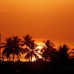 Vizag beach, sun rise