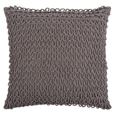 Rizzy Home Applique Loops Pillow