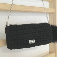 61 Ideas For Crochet Bag Zpagetti T Shirts Ravelry Crochet, Crochet Mittens, Crochet Shawl, Diy Crochet, Crochet Christmas Decorations, Stone Wrapping, T Shirt Yarn, Baby Sweaters, Clutches