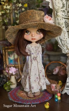 RESERVED For Carol. Bohemian Hat For Your Free by SugarMountainArt