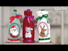 Making Freestanding Lace Christmas Trees - YouTube