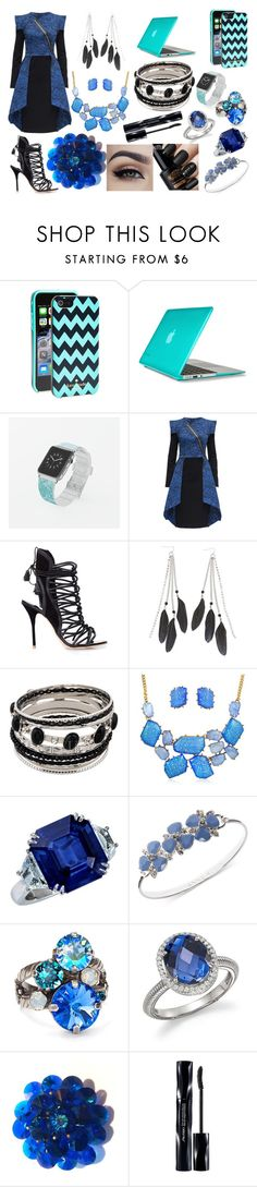"""""""District 3: Technology"""" by maddog3861 ❤ liked on Polyvore featuring Kate Spade, Speck, Casetify, Lattori, Sophia Webster, Charlotte Russe, Bling Jewelry, Anne Klein, Sorrelli and Judith Ripka"""