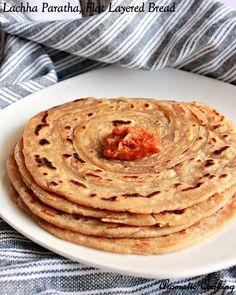 Lachha Paratha, Layered Flat Bread