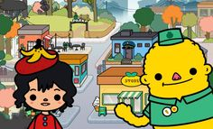 Toca Town Trailer for iPhone
