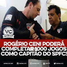#20 - 06.06.2015. Rogério Ceni poderá completar 1000 jogos como capitão do São Paulo!