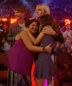 Ross Lynch is over here like Sorry Calum Worthy I get all the girls!