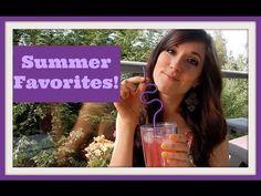 My Summer Favorites!! // Channel Elle - YouTube