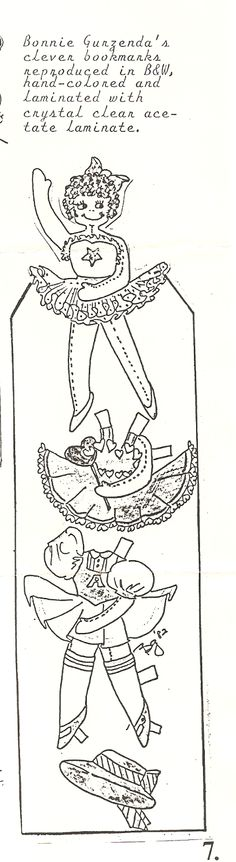 Miss Missy Paper Dolls: OPDAG Newsletter Number 2 1984