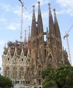 La Sagrada Familia, Barcelona, Rome - one of the most incredible things I have ever seen