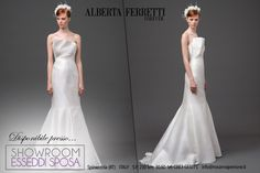 Cassiopea - Alberta Ferretti presso Esseddi Sposa Showroom www.esseddisposa.it