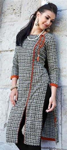 Indian Tunics for Women, Embroidered Tunics, Cotton Kurtis