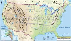 USA Physical Map DOWNLOADABLE AND PRINTABLE MAPS Social Studies