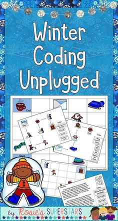 These winter coding games are a wonderful way to introduce coding to students or as a way to practice coding without technology. These activities are a great way to participate in Hour of Code™️ without using technology. Use this resource as a center for students to practice logical reasoning and sequencing of steps. There are 3 different activities with multiple game boards.