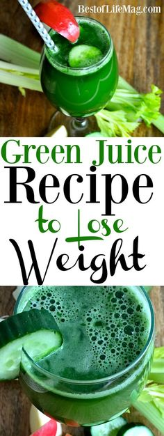 Green Juice Recipe to Lose Weight