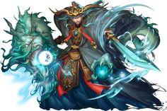 No.1082 孤高龍王 ‧ 敖廣 Lone Dragon King - Ao Guang #神魔之塔 #神魔_中國神幻化