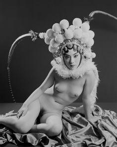 Liu Zheng - A Woman with Beijing Opera Headdress