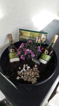Weingarten Geld Geschenk zum 60. Geburtstag