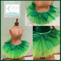 LITTLE FAIRY - Style & Handmade by ArtEcò Creazioni di Annalisa Benedetti #artecocreazioni #annalisabenedetti #fairy #greenfairy #theatercostume #costume #carnival #cosplay #tutu