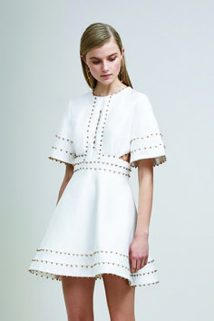 Keepsake All In Love Mini Dress Ivory