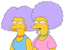 Selma & Patty Bouvier