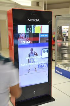 WSS for Kiosks launch in South African malls with Nokia.