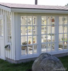 Greenhouse watering systems can comprise simple or advanced, depending on your greenhouse type. Lear about the various types of greenhouse watering systems. Window Greenhouse, Greenhouse Shed, Greenhouse Gardening, Outdoor Rooms, Outdoor Living, Studio Shed, She Sheds, Potting Sheds, Glass House