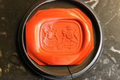 19th Cent Wax Seal