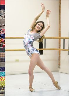 Maddie  New Prints Custom Short Sleeve Leotard by BarretoDancewear