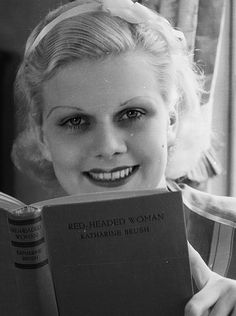 Jean Harlow photographed by Clarence Sinclair Bull, April 1932.