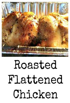 This delicious recipe has been generously shared by one of our great cooks, Simone. Roasted Flattened Chicken is exactly what it say it is! This is a great way to cook a whole chicken in less time, and ensure it is kept moist and full of flavour. It's a great easy recipe and served...Read More »