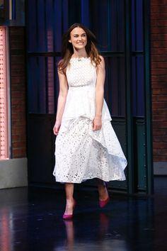 Keira Knightley in Erdem SS15. So pretty!