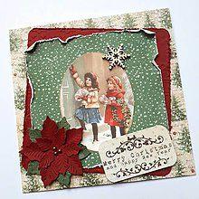 Papiernictvo - Vianočná pohľadnica - 8532072_