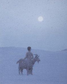 Ohne Titel (Zlateh die Geiß II.) - Untitled (Zlateh, the Goat II) - 2012