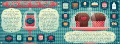 Spicy Heart Mini Muffin by Silvia  Sponza