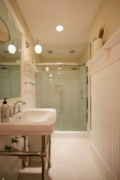Cuarto de baño clásico